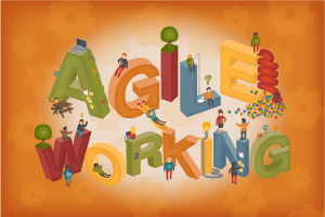 What is agile working and how it can work for you infographic