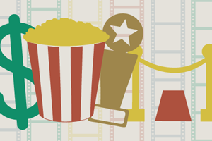 An infographic on the success of independent film